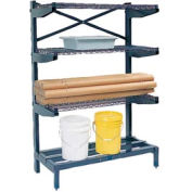 "Cantilever Rack Shelving 36"" W x 24"" D x 72"" H, 800 Lbs Capacity"
