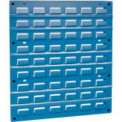 18 x 19 persienne panneau-bleu