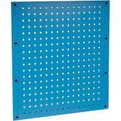 18 x 19 Steel Pegboard Panel-Blue