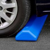 "Eagle Parking Curb with Hardware 72""L x 4""H x 8""W Blue, 1790B"