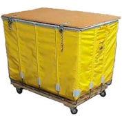 Dandux Yellow Glosstex Shipping Hamper Truck 4002002G14Y 14 Bushel Capacity
