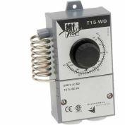 Thermostat mécanique Vostermans pour ventilateur ou chauffageTT15WDCAM1A, un pôle