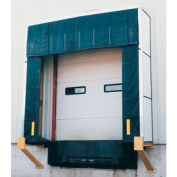 "Vestil Rigid Dock Door Shelter D-750-30 10'W x 10'H with 30"" Projection"