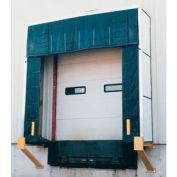 "Vestil Rigid Dock Door Shelter D-750-36 10'W x 10'H with 36"" Projection"