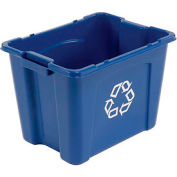 Rubbermaid recyclage Box - Gallon 14 bleu