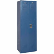 Penco 6MTJ175806 Vanguard Executive Locker 24x24x72 No Legs Ready To Assemble Marine Blue