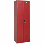 Penco 6MTJ171736 Vanguard Executive Locker 24x24x72 No Legs Assembled Burgundy