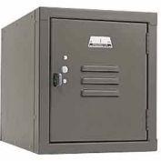 Penco 6179V028 Vanguard One High Box Locker 12x18x13-5/8 Unassembled Gray