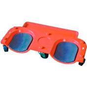 Vestil Rolling Plastic Knee Dolly KNEE-D 350 Lb. Capacity