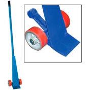 Vestil levier Dolly avec 5' L poignée acier & barre anti-recul PLB/S-5 5000 lb capacité