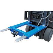 """Vestil Forklift Tow Base HOOK-BASE-44 for 48""""L Forks 4000 Lb. Capacity"""