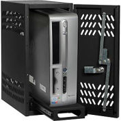 Datum Small Hanging CPU Locker CPU1-T25, Black