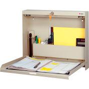 Datum Wallwrite Fold-up Desk-Locking-BLACK