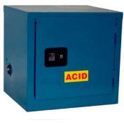 Global Industrial™ Stackable Acid Corrosive Cabinet, Manual Close Sgl. Door 6 Gallon, 23x18x22