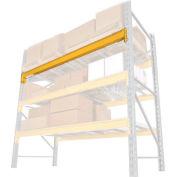 """Husky Rack & Wire Double Slotted Pallet Rack Beam Pair - 120""""L, 4,828 Lb Cap/Pr (2 pcs)"""