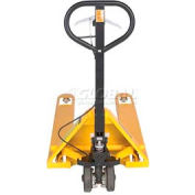 Wesco® Pallet Jack Truck with Hand Brake 272667 5500 Lb. Capacity