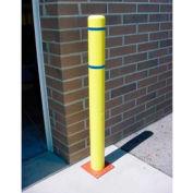 """Couverture de 8 """"x 72» Bollard - bandes de couverture jaune/bleu"""