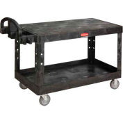 Rubbermaid® 4545 Flat Shelf Plastic Service & Utility Cart 54 x 25