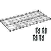 Nexelon™ Wire Shelf 36x18 With Clips
