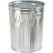 Galvanized Garbage Can - 32 Gallon Commercial Duty - WCD32C