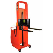 """Wesco® Battery Powered Lift Counter Balanced Stacker 261039 76""""H 25"""" Forks"""