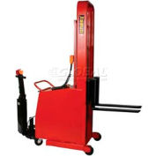 "Wesco® Battery Power Lift & Drive Counterbalance Stacker 261039-PD 76""H"