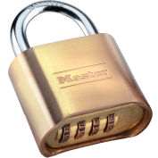 "Master Lock® No. 175D Set-Your-Own Brass Combination Padlock - 2""W"