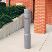 """Arc décoratif Bollard couvercle forme tuyau 6"""" -6-5/8"""" gris"""