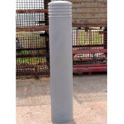 "Couvercle décoratif Bollard Cinco adapter tuyau 10"" -11"" gris"