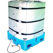 """BriskHeat® 48""""H Wrap-Around Tote Tank Heater For 330 Gallon Tote Tank, 50-160°F, 240V"""