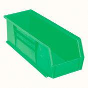 "Akro-Mils AkroBin® Plastic Stacking Bin 30234 - 5-1/2""W x 14-3/4""D x 5""H, Green - Pkg Qty 12"