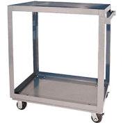 Vestil Aluminum Two Shelf Service Cart SCA2-2840 40 x 28 660 Lb. Capacity
