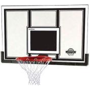 """Lifetime® 54"""" panneau de Basketball à charpente d'acier avec jante Pro Slam-It"""