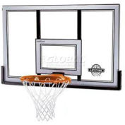 "Lifetime® 50"" Shatter Proof Basketball Backboard with Slam-It Pro Rim"