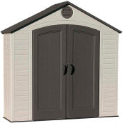"""Lifetime 8' x 2'  6"""" Garden and Tool Shed"""