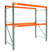 "Global Tear Drop Pallet Rack Starter 108""W x 42""D x 120""H"