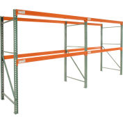 "Global Tear Drop Pallet Rack Add-On 108""W x 42""D x 144""H"