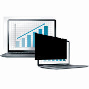 """Fellowes® 4800601 PrivaScreen™ Blackout Privacy Filter for 14.1"""" Widescreen Laptops - Pkg Qty 4"""