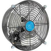 "24"" Ventilateur d'échappement - Mount Guard - Direct Drive - 1/5 HP - Vitesse unique"