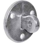 """Kee Safety - LM58 - Aluminum Male Wall Plate, 1-1/2"""" Dia."""
