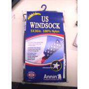 "Nylon USA Windsock 5"" Dia. X 36"""