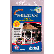 Patriotic Pleated Mini Us Fan