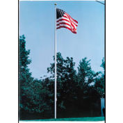 30' Large Outdoor Aluminum Flagpole