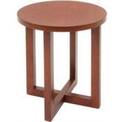 "Regency End Table - 21"" Round - Cherry - Chloe Series"