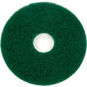 """13"""" Green Scrubbing Pad - 5 Per Case"""
