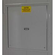 Explosion Relief Panel Upgrade for Outdoor Hazardous Storage Building - 4 Drum