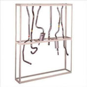 """Hanging Tailpipe Rack 96""""W x 18""""D x 120""""H"""
