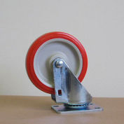 "5"" Polyurethane Swivel Caster 5125PPY-S for Little Giant® Carts"