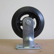"""6"""" Mold-on Rubber Rigid Caster 6218-RR for Little Giant® Carts"""