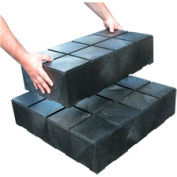 "Structural Plastic Dunnage Cube 24""W x 12""D x 6""H (6 pcs)"